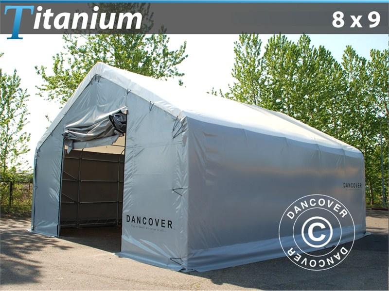 Wytrzymaly namiot Titanium 8 x 9 x 3 x 5 m