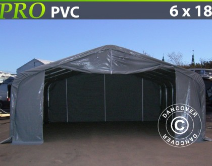 Namiot magazynowy-PRO-6X18X37-M-PVC